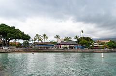 Iron man swim start Kailua Bay Kona Big island Hawaii