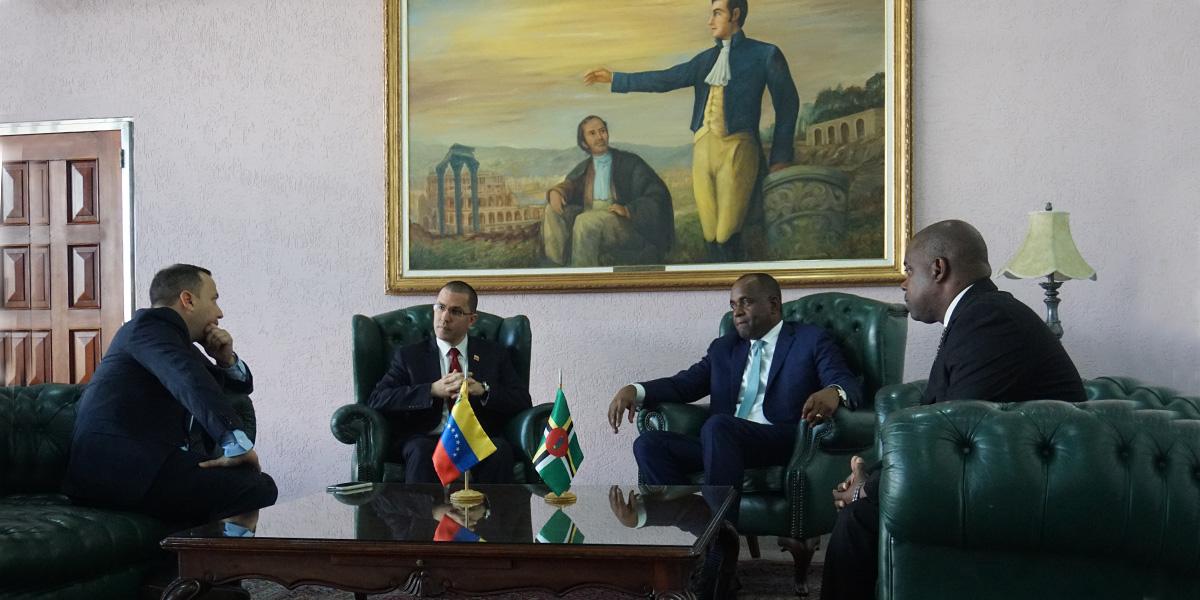 Venezuela y Dominica consolidan lazos bilaterales en vísperas de Cumbre del ALBA-TCP