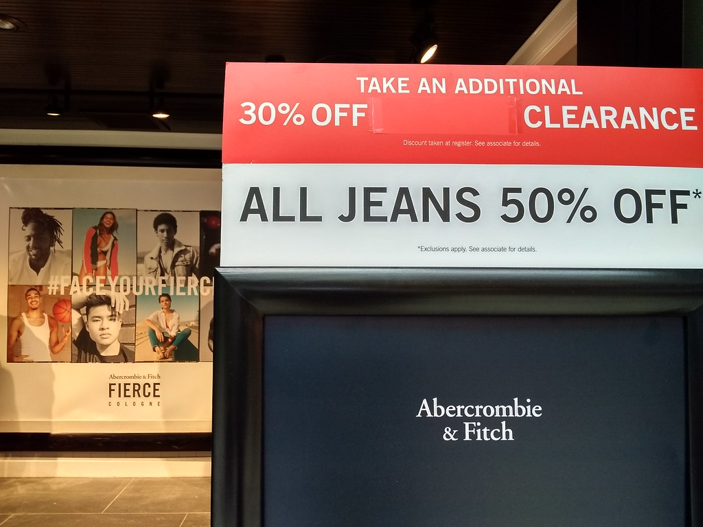 Abercrombie & Fitch Sale