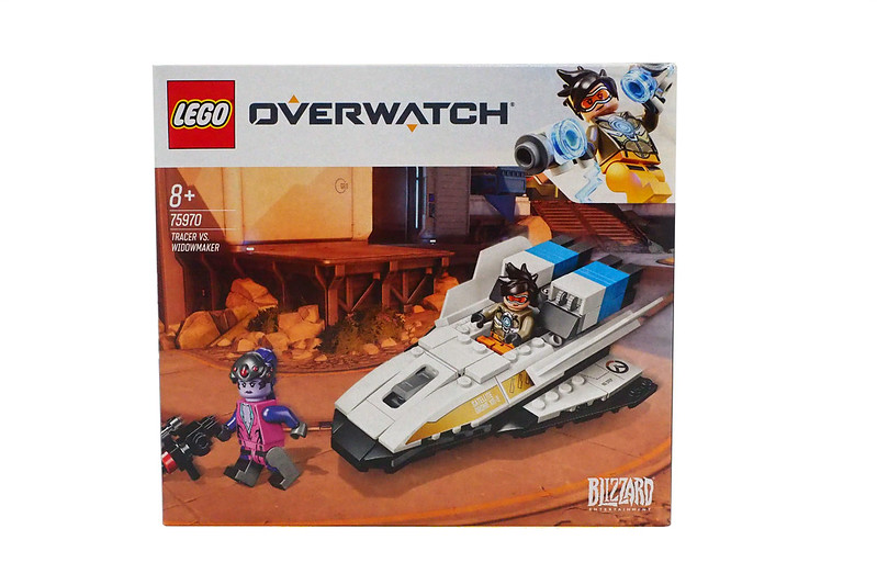LEGO Overwatch Tracer Vs Widowmaker (75970)