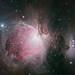 The Orion Nebula and Running Man nebula by js19pv
