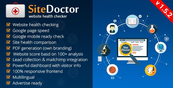 SiteDoctor v1.5.2 – website health checker