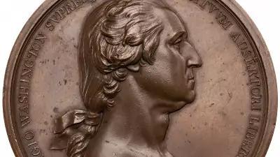 Washington Before Bostn medal