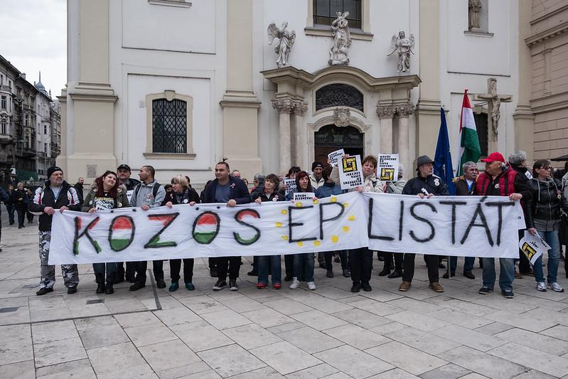 Ellenzéki tüntetés 2019.03.15.