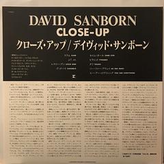DAVID SANBORN:CLOSE-UP(INNER 1)
