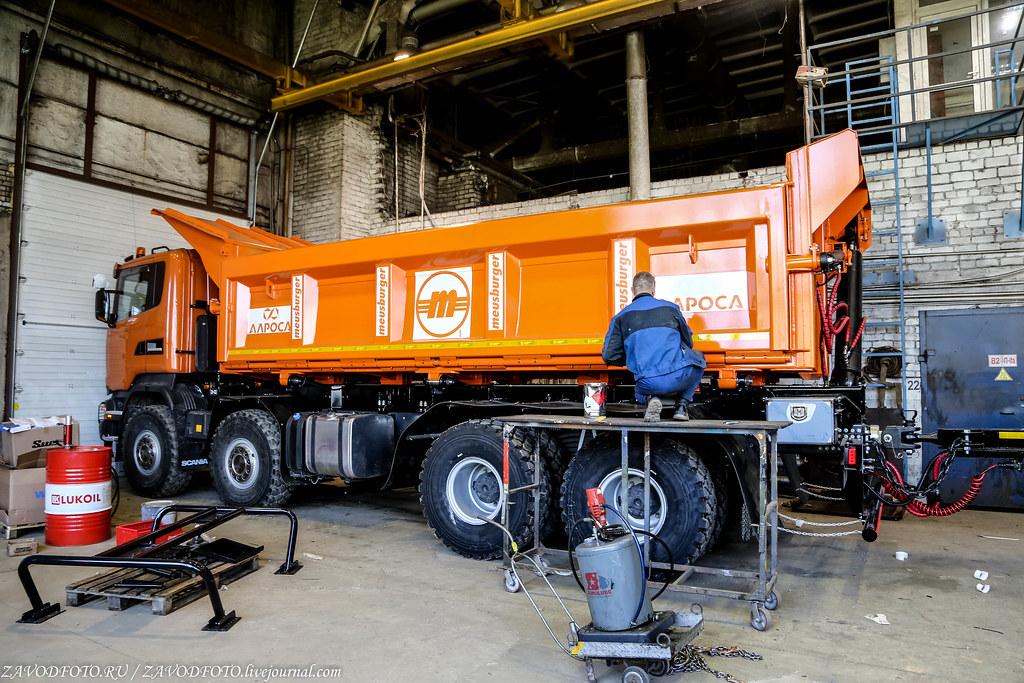Где в России делают немецкие прицепы для наших грузовиков