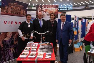 Mayor of Vienna Michael Ludwig visiting the Vienna International Centre