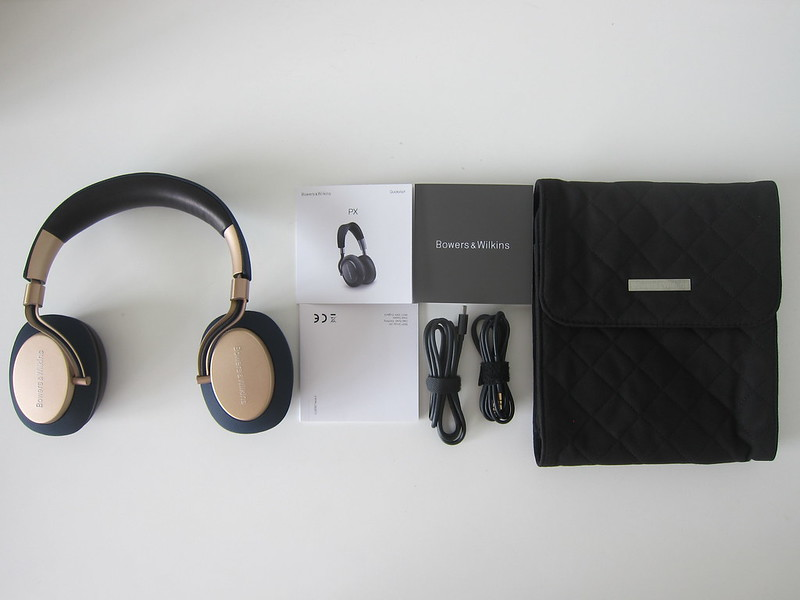 Bowers & Wilkins PX Headphones - Box Contents