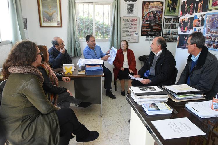 REUNIÓN CON LA ASOCIACIÓN DE VECINOS VIRGEN DE LA PALMA1