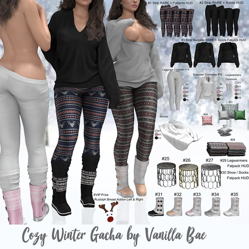 Vanilla Bae Cozy Winter Gacha Giveaway!