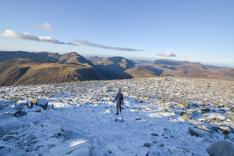 Borrowdale Walk to Great Gable Fell