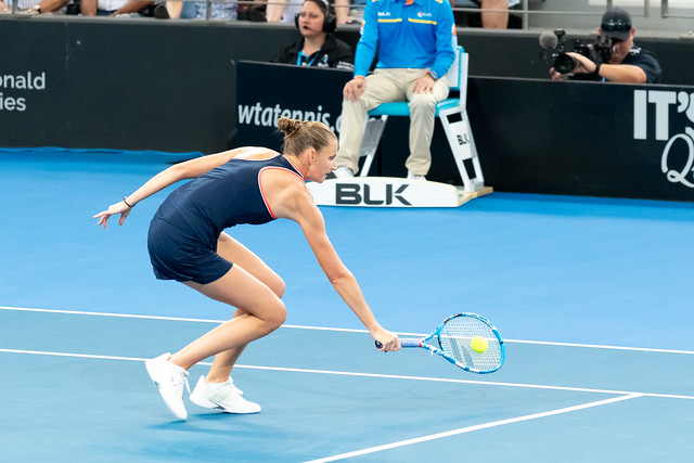 Brisbane International Tennis Finals 2019 - Karolina Pliskova  def. Lesia Tsurenko