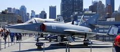 Dassault Étendard IVm, Intrepid Sea, Air and Space Museum, New York.