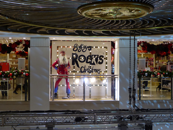 selfridges rocks Christmas