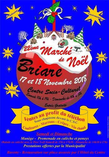 présence de Aux Portes de l'Universel au marché de Noël de Briare le canal (45)