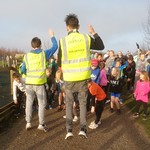 Gedling junior parkrun.  18 Nov 18.
