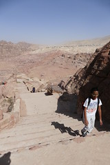 Hike Up to the Treasury Viewpoint in Petra (9)