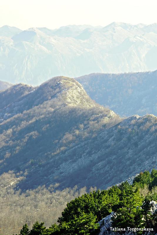 Вид на горы с вершины Борова глава