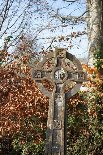 Celtic cross, Litton Cheney