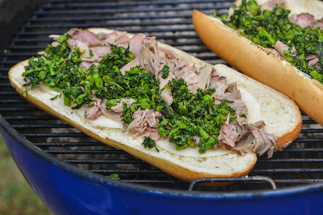 Philly Roast Pork Sandwiches
