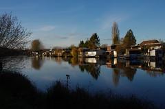 Cabanons autour des étangs de Milly-sur-Thérain