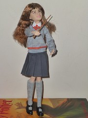My birthday gift from my son—Hermione Granger doll