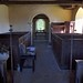 005-20180927_Little Washbourne Church-Gloucestershire-view down Nave from W end to Chancel Arch and Chancel at E end of Church