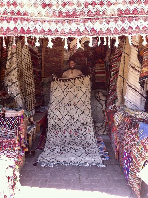 marrakech carpet souk
