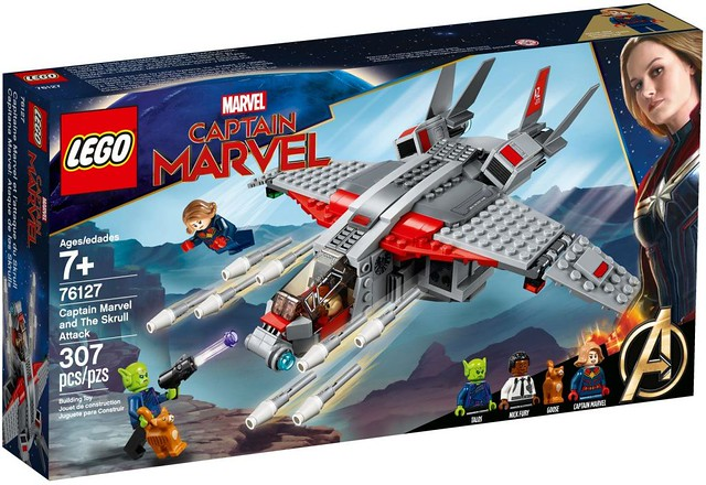 LEGO 76127《驚奇隊長》驚奇隊長與史克魯爾人進攻 Captain Marvel and The Skrull Attack