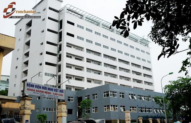 Bệnh viện Việt Đức rất nổi tiếng trong việc thực hiện các phương pháp can thiệp não