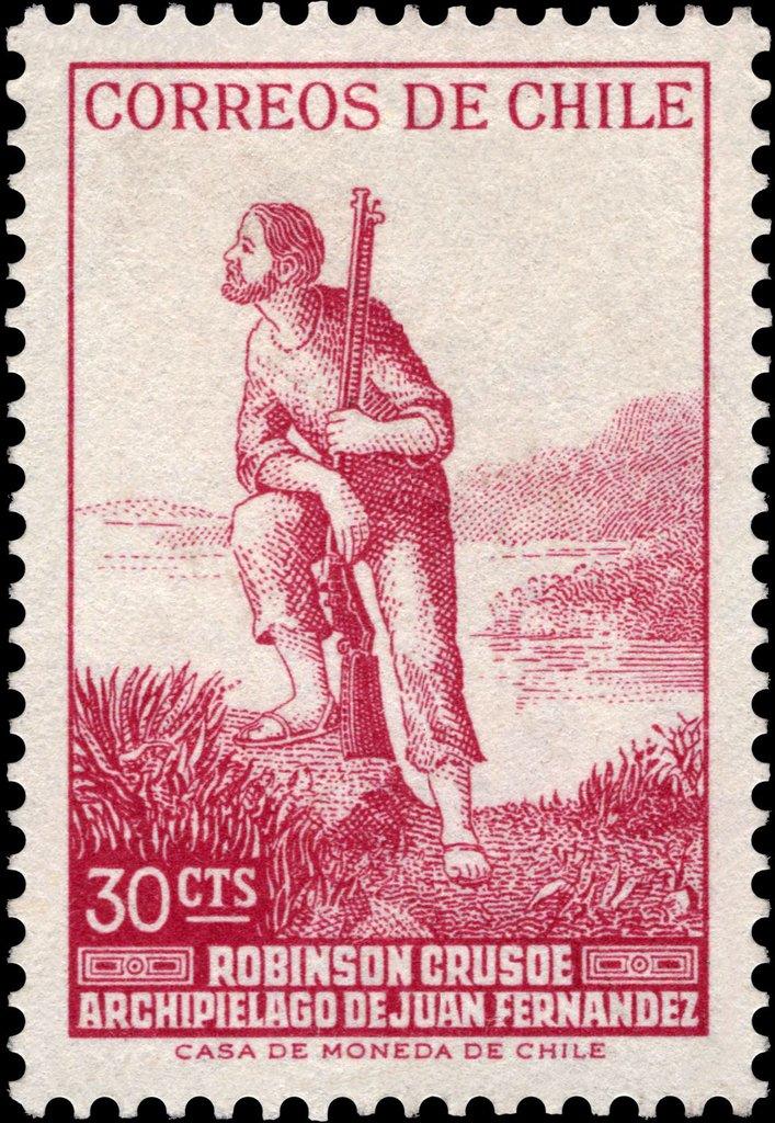 Chile - Scott #349 (1965)