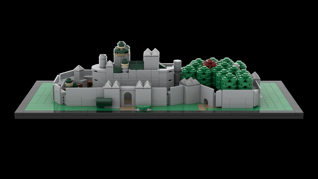 Sy sy6187 minecraft tree housemovie series moc-23049winterfell architecture by momatteo79 mocbrickland