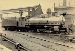 Africa Railways - Congo - Chemin de fer du bas-Congo au Katanga (CBK) 2-8-2 steam locomotive Nr. 467 (Haine St. Pierre Locomotive Works 1674 / 1930)