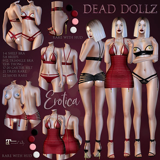 Dead Dollz - Erotica Gacha Collection | by KiddoOh