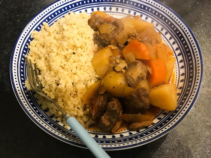Beef & Harissa Stew