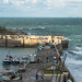 Blustery Newquay Harbour - 20181027-  164007
