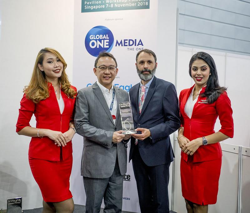 AirAsia Rangkul Anugerah di Inflight Asia Pacific Awards