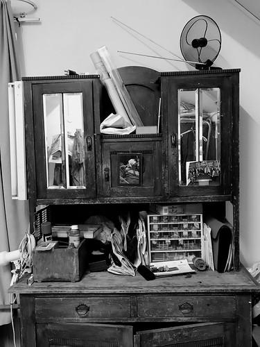 Dad's cabinet