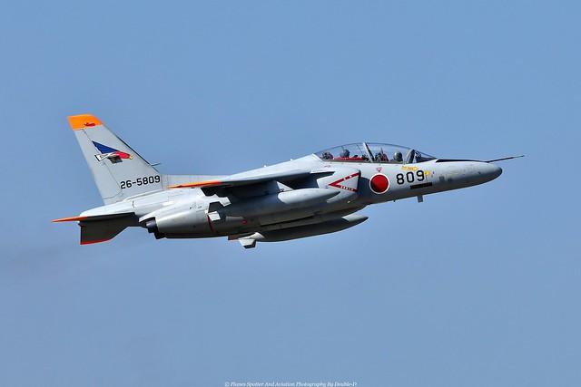 JASDF Kawasaki T-4 26-5809