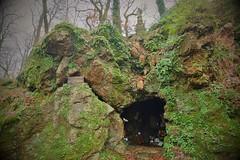 Grotte du pere de Montfort,  Foret de Mervent, Vendée
