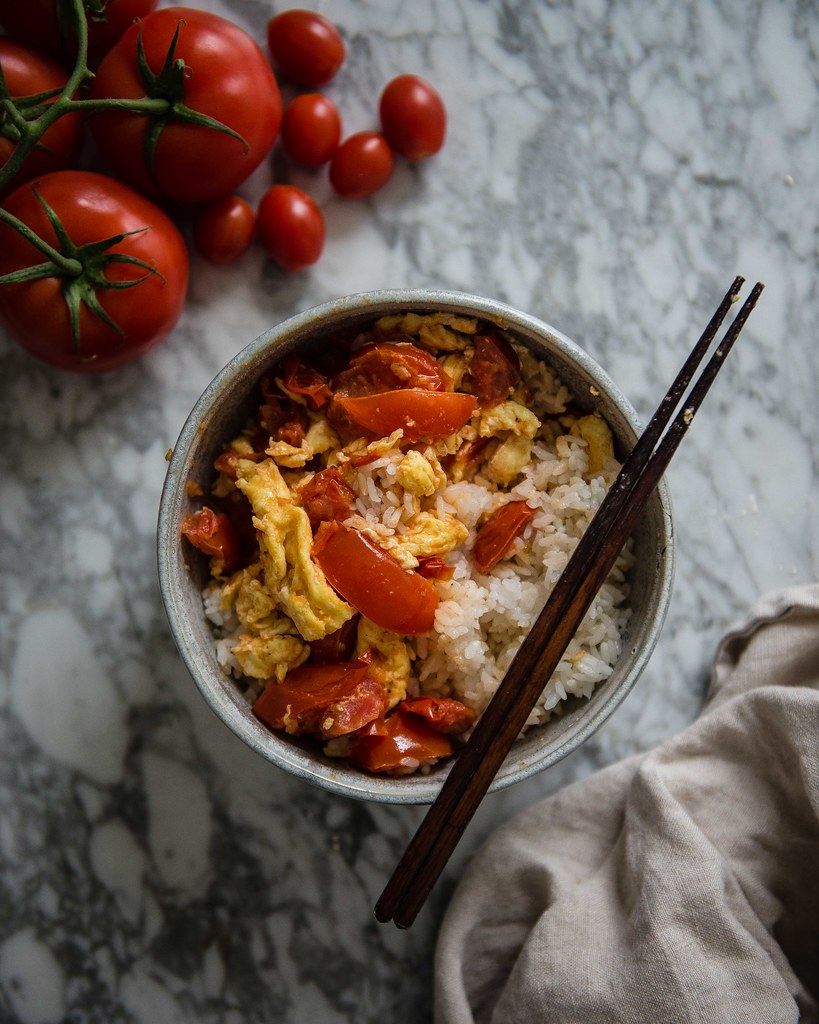 tomatoes and eggs, from a common table cookbook