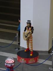 Lego Noddy Holder has moved at Birmingham New Street Station