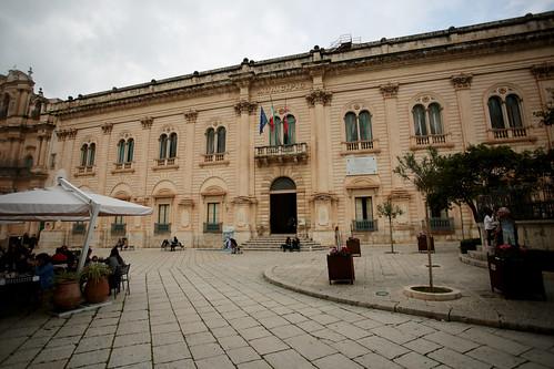 Scicli: il palazzo del comune
