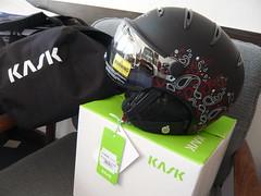 Luxusní lyžařská helma KASK ELITE LADY vel. 56 - titulní fotka