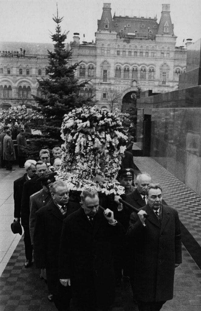 1968. Похороны Гагарина