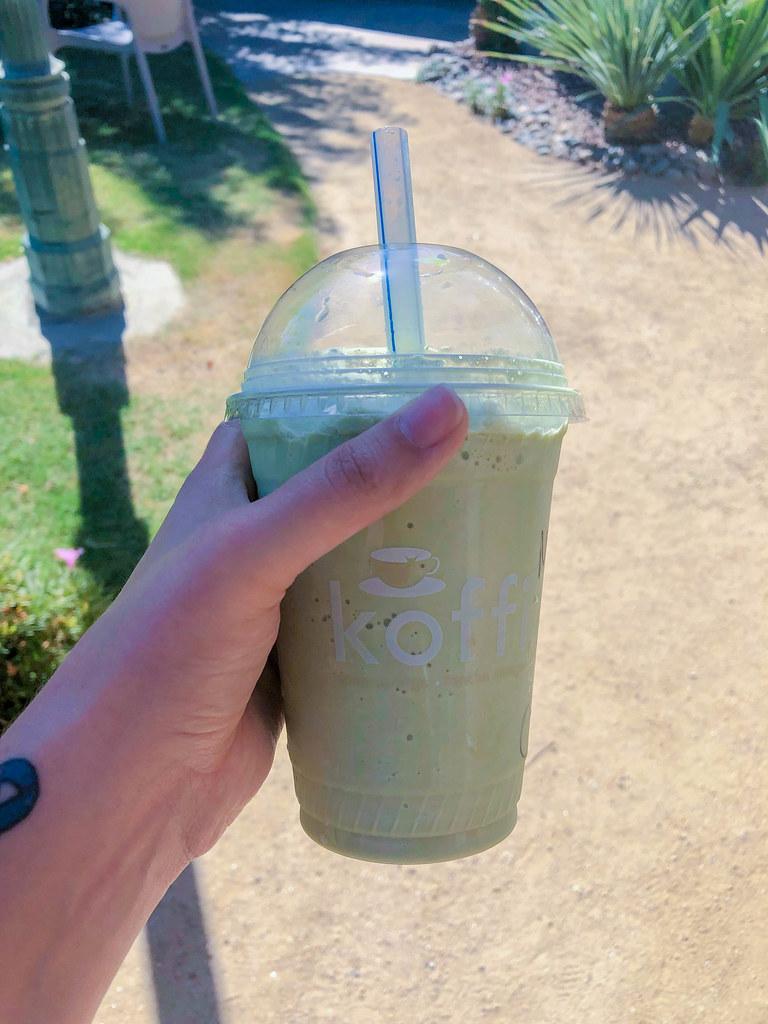 Matcha Tea Freeze from Koffi