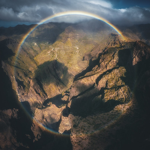 tenerife teneriffa masca valley schlucht reise travel landscape landschaft nature natur rainbow regenbogen hike wanderung canaryisland kanaren kanarischeinseln
