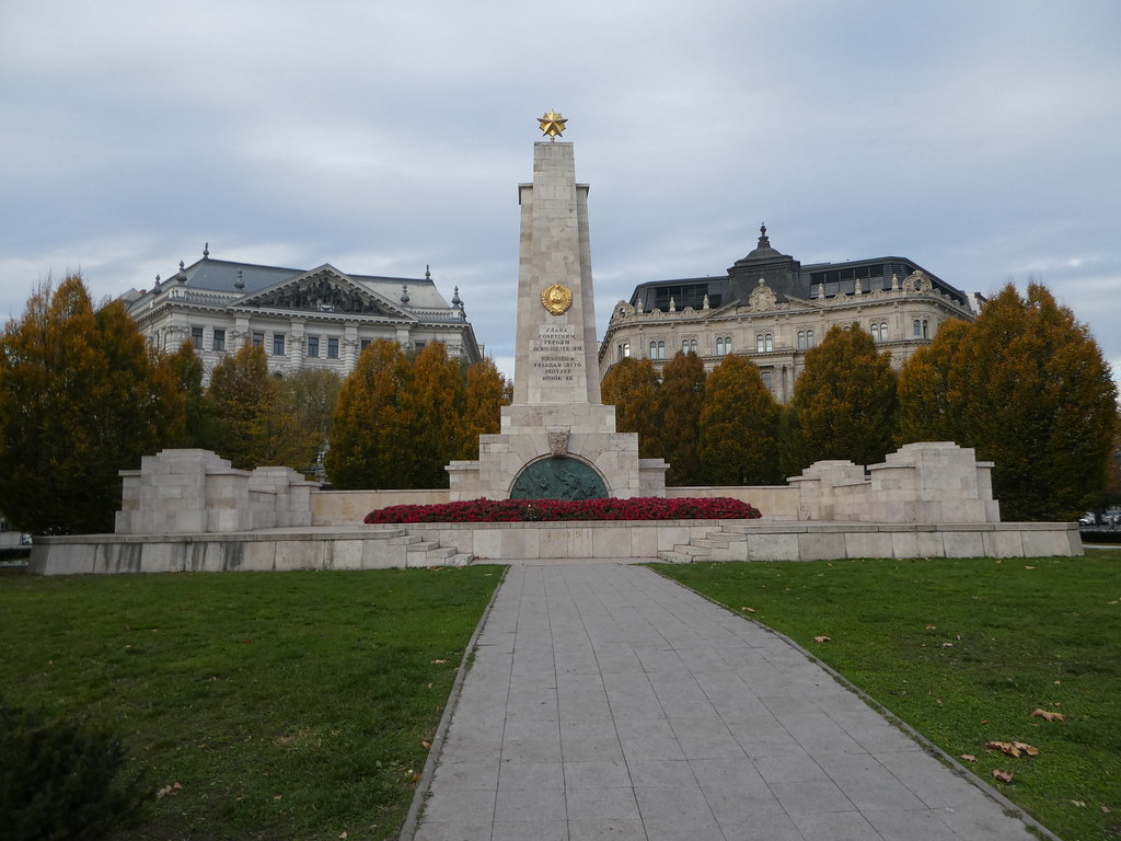 Monument to Communist Liberation. Liberty Square, Budapest