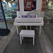 Yamaha piano at Birmingham New Street Station