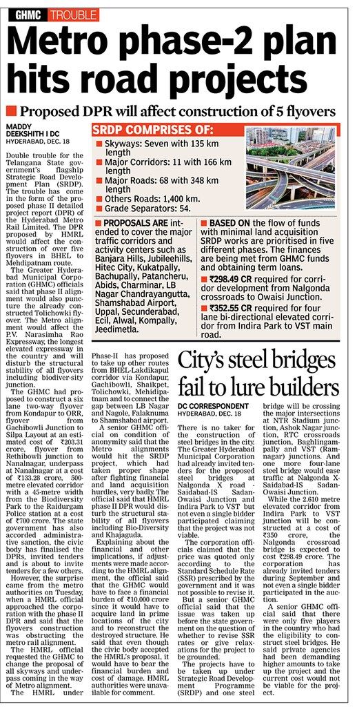 Hyderabad Roads & Flyovers - Page 116 - SkyscraperCity